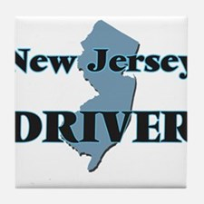 New Jersey Driver Tile Coaster