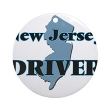 New Jersey Driver Round Ornament