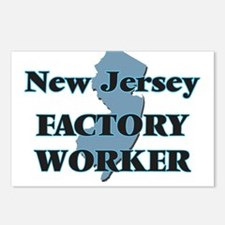 New Jersey Factory Worker Postcards (Package of 8)