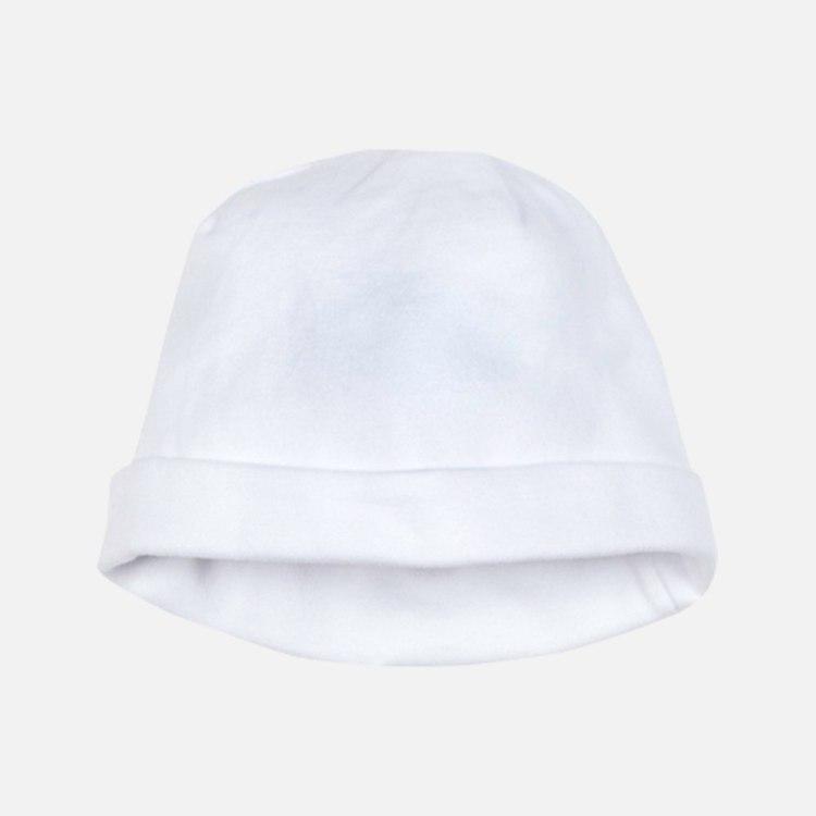 White baby hat