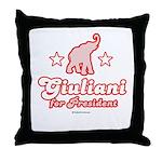 Giuliani for President Throw Pillow