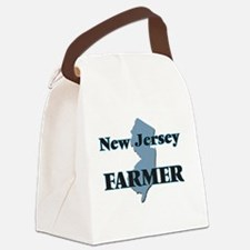 New Jersey Farmer Canvas Lunch Bag