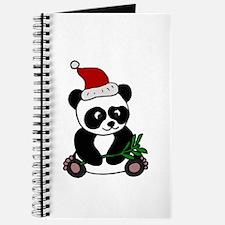 Christmas Panda Bear Journal