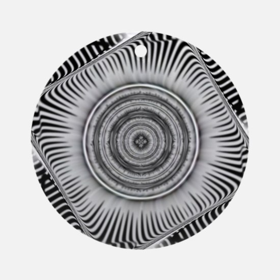Cool Fractals Round Ornament