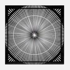 Unique Abstract circles Tile Coaster