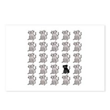 One Special Black Kitty Postcards (Package of 8)