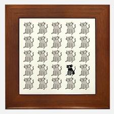 One Special Black Kitty Framed Tile