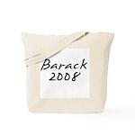 Barack Obama Autograph Tote Bag