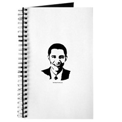 Barack Obama Face Journal