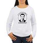 Barack Obama is my homeboy Women's Long Sleeve T-S