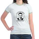Barack Obama is my homeboy Jr. Ringer T-Shirt