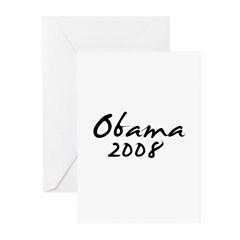 Obama Autograph Greeting Cards (Pk of 10)