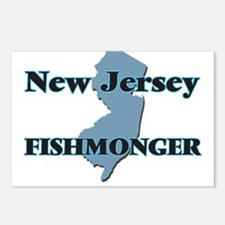 New Jersey Fishmonger Postcards (Package of 8)