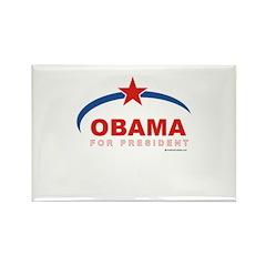 Obama for President Rectangle Magnet