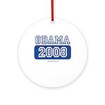 Obama 2008 Ornament (Round)