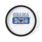 Obama 2008 Wall Clock