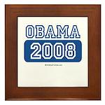 Obama 2008 Framed Tile