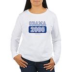 Obama 2008 Women's Long Sleeve T-Shirt