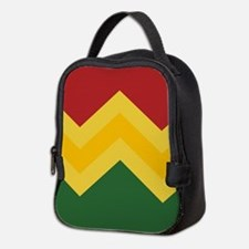 Trendy Chevron Pattern Design Neoprene Lunch Bag