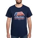 Obama for President Dark T-Shirt