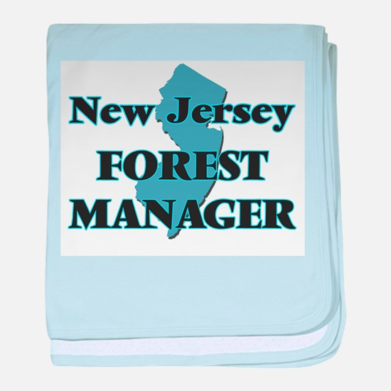 New Jersey Forest Manager baby blanket