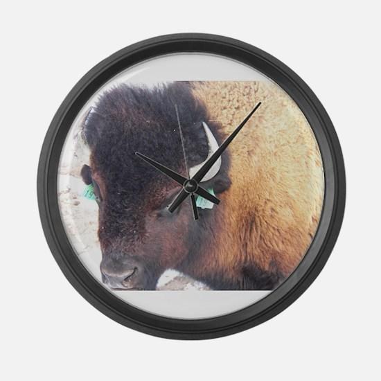 Unique Nebraska cornhuskers Large Wall Clock