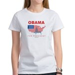 Obama for President Women's T-Shirt