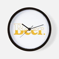 Beer. Wall Clock