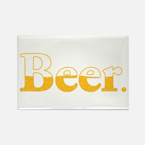 Beer. Rectangle Magnet