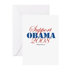 Support Obama Greeting Cards (Pk of 20)