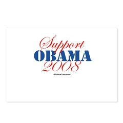 Support Obama Postcards (Package of 8)