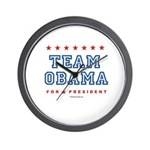 Team Obama Wall Clock