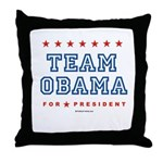 Team Obama Throw Pillow