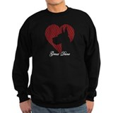 Great dane Sweatshirt (dark)