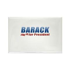 Barack for President Rectangle Magnet (100 pack)