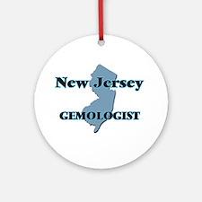 New Jersey Gemologist Round Ornament