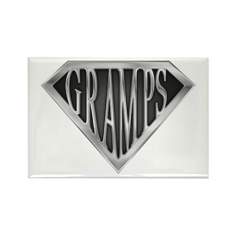SuperGramps(metal) Rectangle Magnet