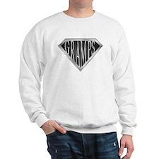 SuperGramps(metal) Sweatshirt