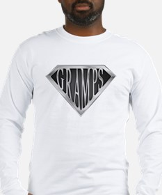 SuperGramps(metal) Long Sleeve T-Shirt