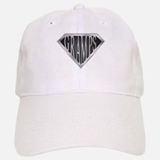 SuperGramps(metal) Baseball Baseball Cap