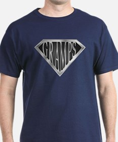 SuperGramps(metal) T-Shirt