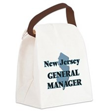 New Jersey General Manager Canvas Lunch Bag