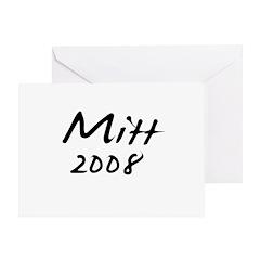 Mitt Romney Autograph Greeting Card
