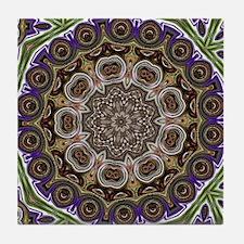 Cute Abstract circles Tile Coaster