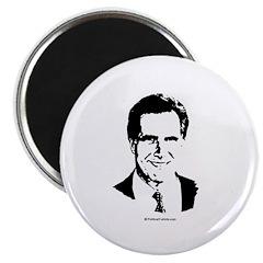 """Mitt Romney Face 2.25"""" Magnet (10 pack)"""