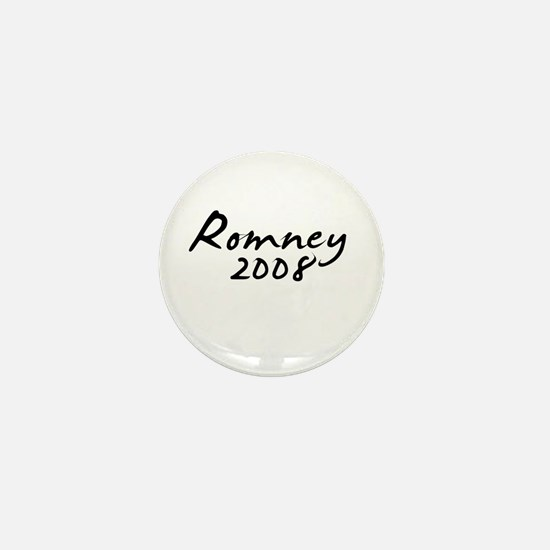 Mitt Romney Autograph Mini Button