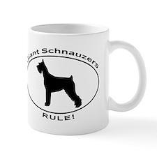 GIANT SCHNAUZERS RULE Mugs
