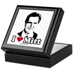 I Love Mitt Keepsake Box