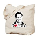 I Love Mitt Tote Bag