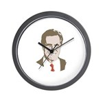 Mitt Romney Face Wall Clock